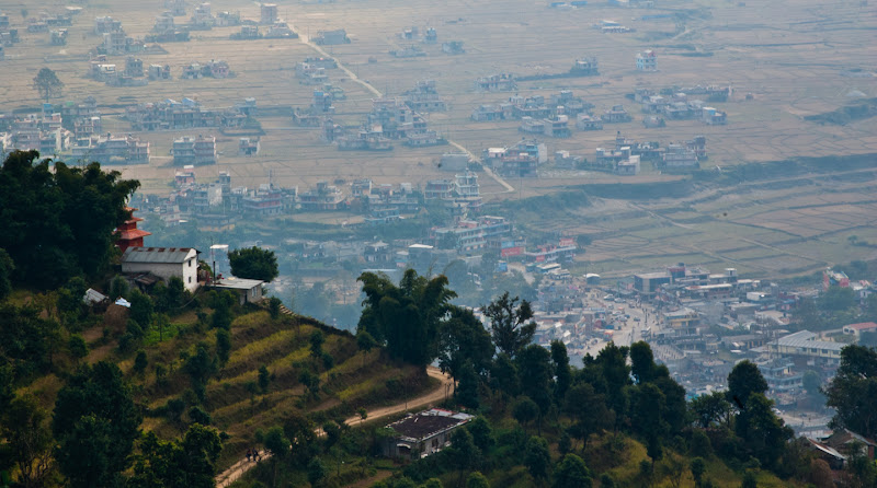 Photo: Pokhara From Above