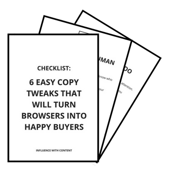 Copywriting Checklist