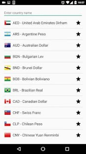 Currency rate converter- screenshot thumbnail