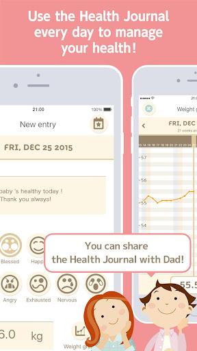 280days: Pregnancy Diary Screenshot