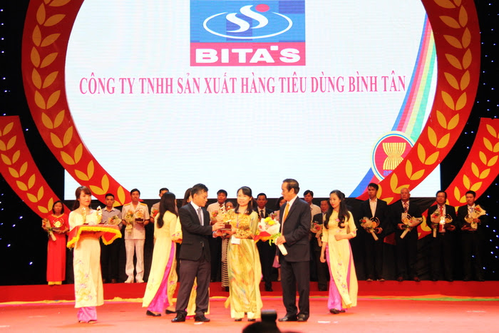 BITA'S vinh dự đạt giải thưởng Doanh nghiệp Sao Vàng ASEAN