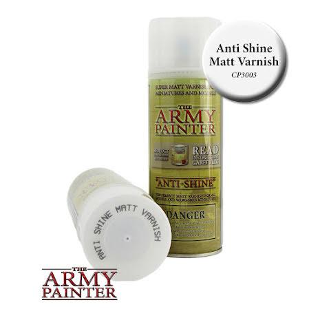 ArmyPainter Base Primer Spray - Anti-Shine, Matt Varnish