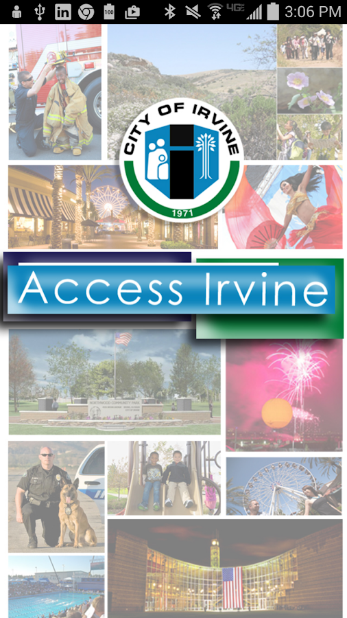 Access Irvine- screenshot