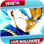 Fanart Dragon DBS Vegeta Live Wallpaper APK icon