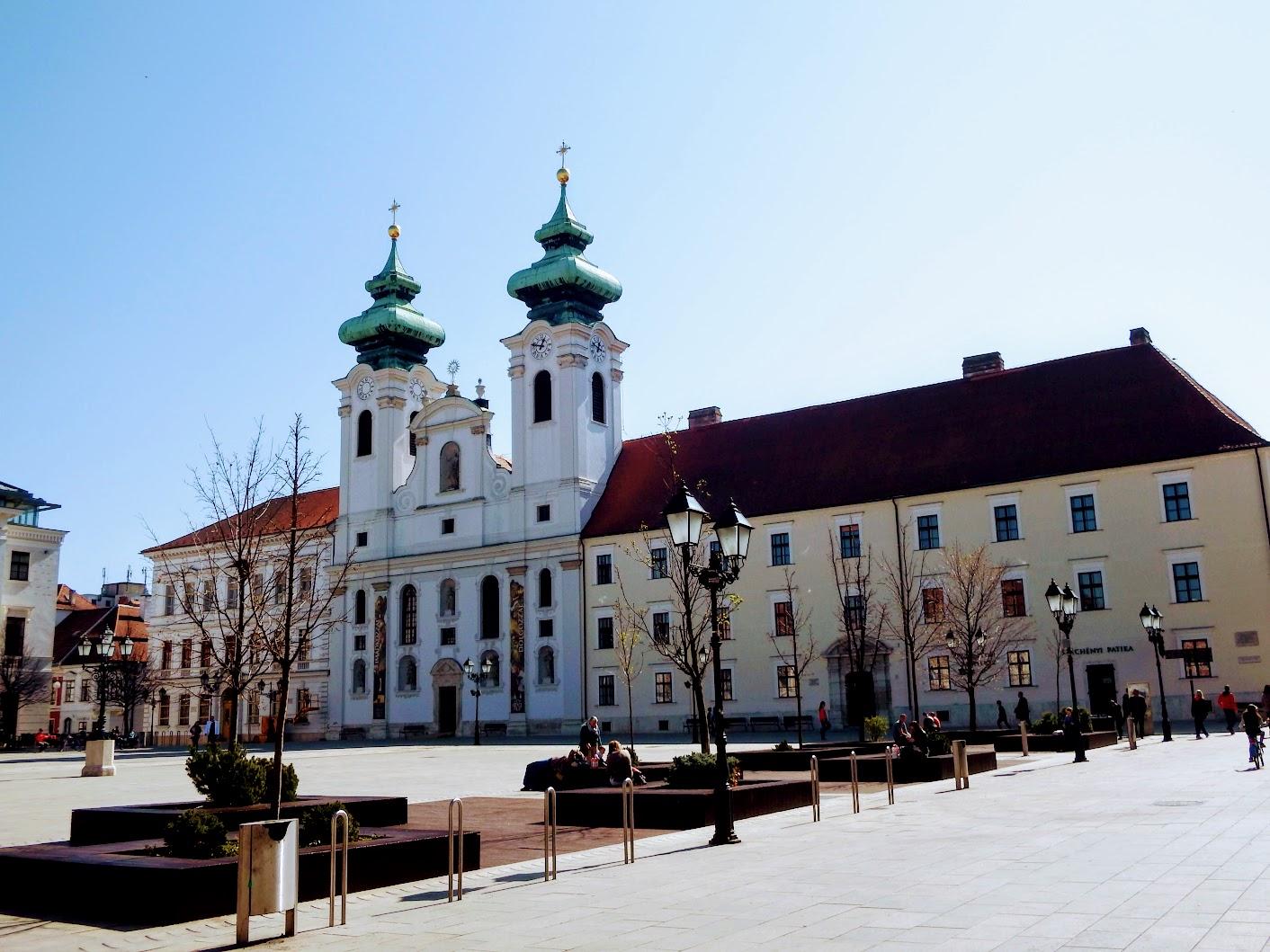 Győr - Loyolai Szent Ignác bencés templom