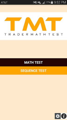 Trader Math Test