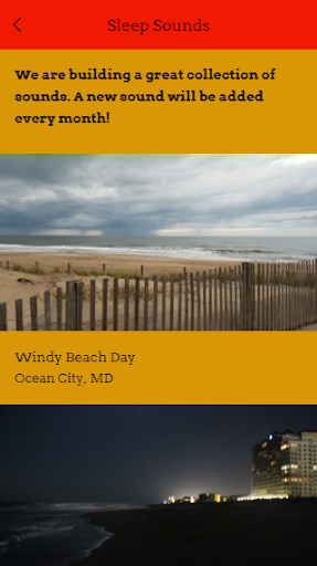 Screenshot for Sleep Sounds Of Maryland in United States Play Store