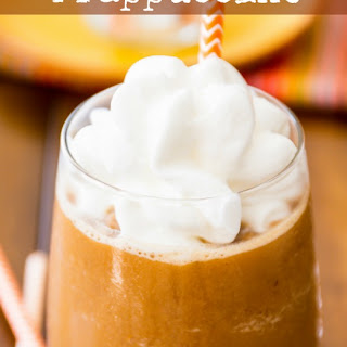 Skinny Pumpkin Frappuccino