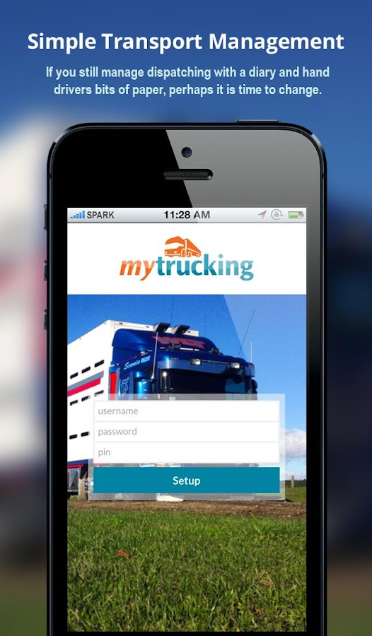 MyTrucking- screenshot