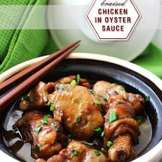 Braised Chicken in Oyster Sauce.