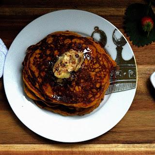Protein-Rich Pumpkin Pancakes