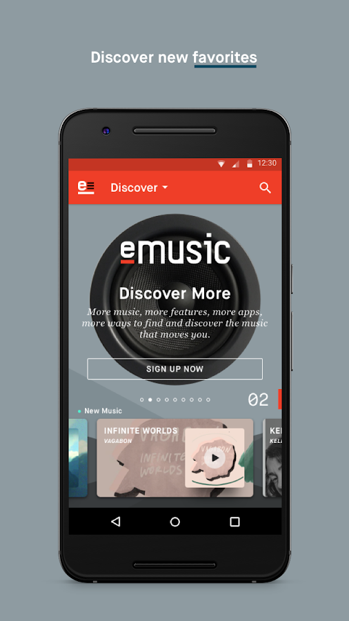 eMusic- screenshot