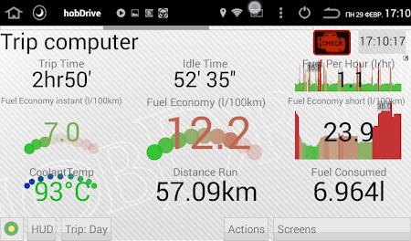 HobDrive Demo (OBD2 ELM diag) 1.4.23 screenshot 606390