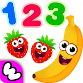 Tải Funny Food 123! Kids Number Games for Toddlers miễn phí