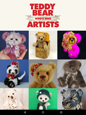 android Who's Who Teddy Bear Artists Screenshot 5