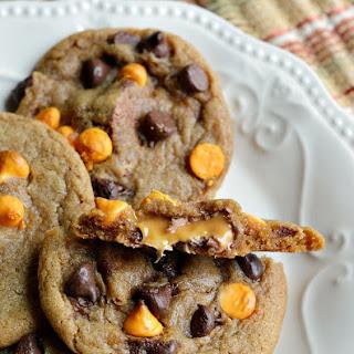 Milky Way Surprise Chocolate Chip Cookies