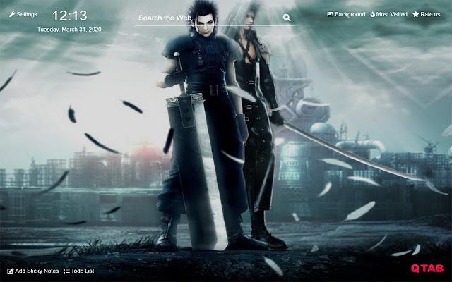 Final Fantasy Vii Remake Wallpapers New Tab