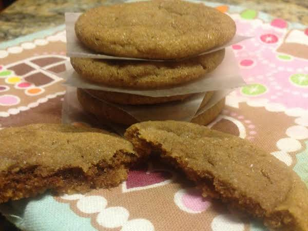 Gingersnap Spice Cookies