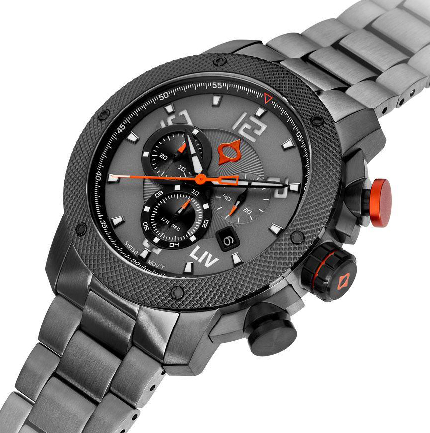 LIV GX1 Cool Gray chronograph Limited Edition.