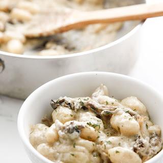 Gnocchi Cream Of Mushroom Sauce Recipes.