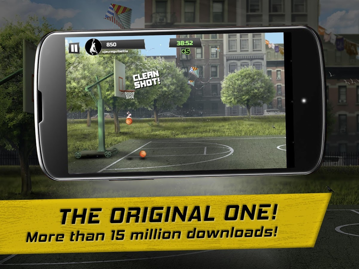 iBasket - Street Basket and Basketball shooting- screenshot