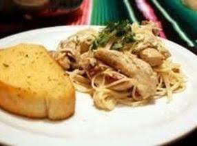Chicken Dijon With Braised Cabbage Over Linguini Recipe
