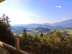 Photo: Great view towards Bled from Talež hut