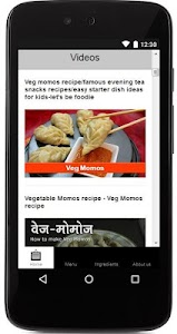 Chicken Momos  Recipe screenshot 1