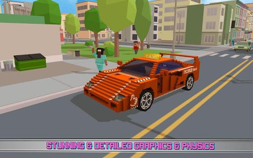 Fast City Taxi Race Legend