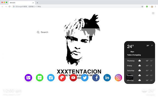 Xxxtentacion HD New Tabs Popular Stars Themes