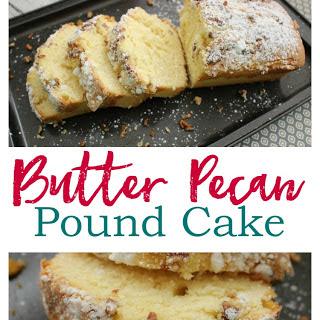 Butter Pecan Pound Cake.