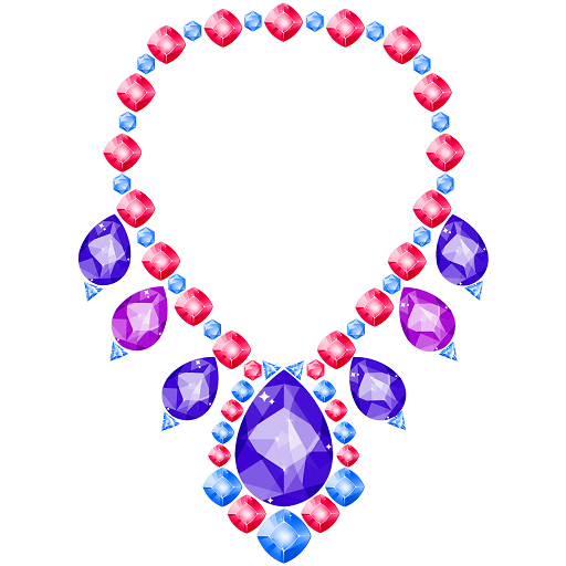Gems Art: Color by Number, Fashion Coloring Pages Icon