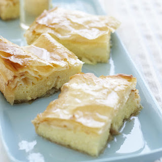 Greek Custard Pastries.