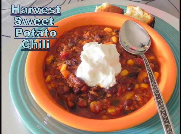 Harvest Sweet Potato Chili Recipe