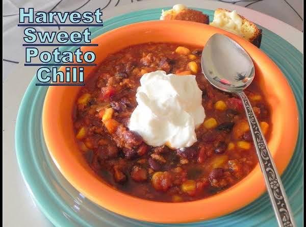 Harvest Sweet Potato Chili
