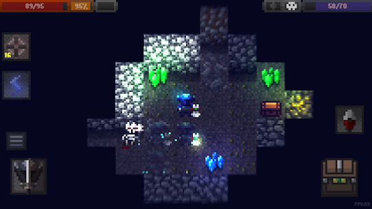 Caves (Roguelike) Mod Apk Download For Android and Iphone 1