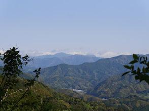 中央右から小無限山・七ツ峰・大無間山など
