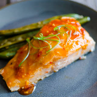 Single Serving Sweet and Sour Salmon #SundaySupper.