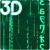 Digital Rain 3D Live Wallpaper