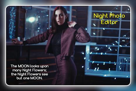 Night Photo Editor - náhled