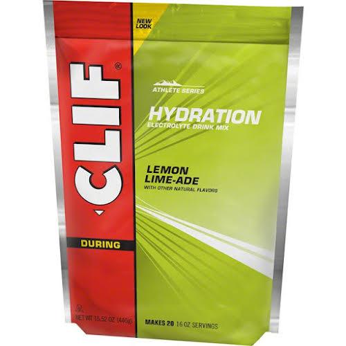 Clif Bar Clif Shot Hydration Drink Mix Lemon Lime 20 Servings