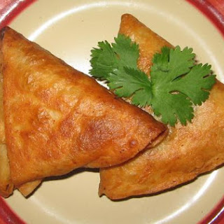 Vegetable Samosas W/ Filo Dough Or Tortillas