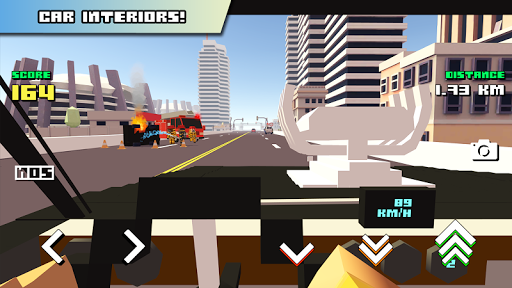 Blocky Car Racer 1.24 screenshots 5