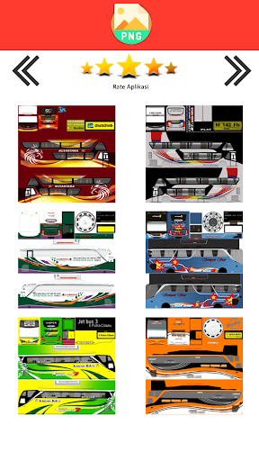 Livery Bussid Lorena 3.4 screenshots 2