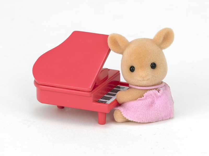 Contenido real de Bebé Ciervo con Piano