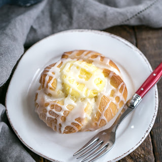 Danish Twists with Cream Cheese Filling.