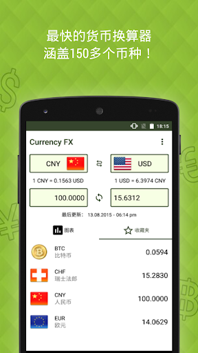 Currency FX - 外币兑换