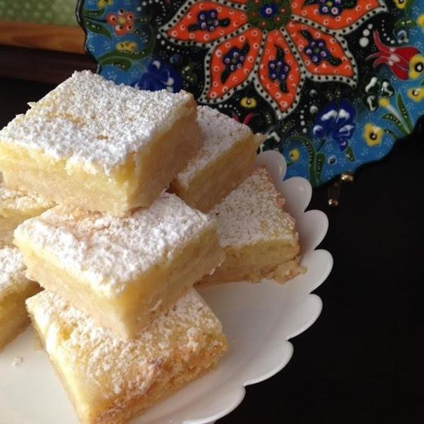 Lemon-butter Snowbars Recipe