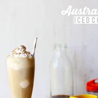 Australian Iced Coffee (with Maple!).
