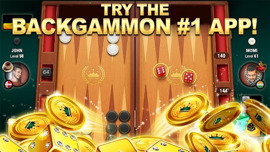 Backgammon Live: Play Online Backgammon Free Games 1